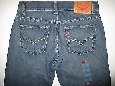LEVI'S 505 Straight Jeans Boys sz 14 Reg 27x27 NEW