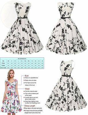 4162470d2b92c9 GRACE KARIN BOATNECK Sleeveless Vintage Tea Dress with Belt