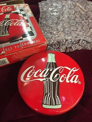 NEW~ Coca-Cola Collectible Paperweight