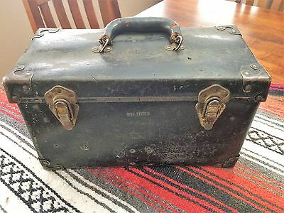 Vintage Bell Systems Tool Box- Progressive Fiber & Luggage Co.