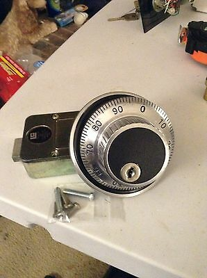 Lagard  3. Wheel Combination Lock /w  Dial And Ring