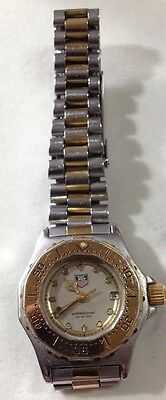 Ladies Tag Heuer Quartz Diving Watch Stainless Steel & Gold