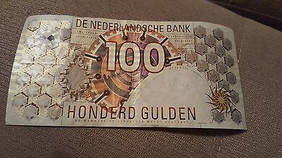Netherlands. 100 gulden (Unc) 2150. Banknote Cat# P.101