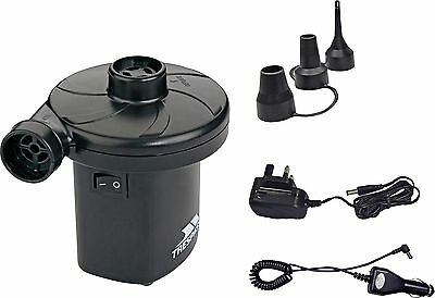 Trespass Mains / Rechargeable Airbed Toys Air Pump -From the Argos Shop on ebay