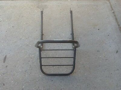 Ducati gear carrier touring accessory luggage rack SuperSport Desmodue