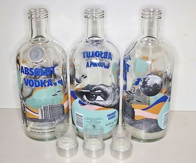 Rare Absolut Vodka 700Ml Blank 1 Mario Wagner Empty Display Bottle -No La