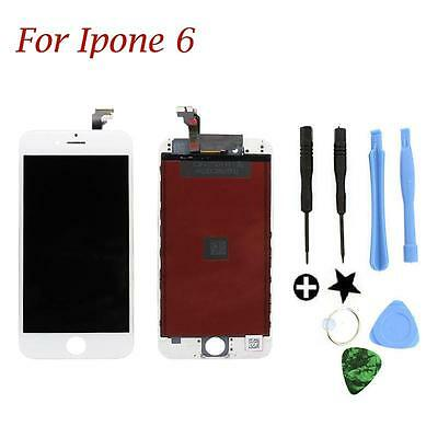 LCD Display Touch Screen Digitizer Assembly Replacement for Iphone 6 white