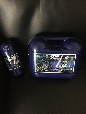 1996 Star Wars Lunch Box And Beaker