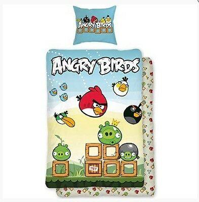 Angry Birds Bed Cover Cushion Cover & Duvet Cover