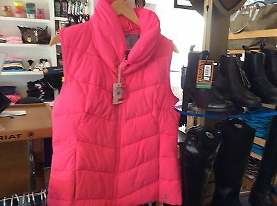 Joules Merriweather Puffer Vest - Pink - NWT - Ladies 10