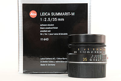 Leica Summarit-M - 35mm 1:2.5 - excellent état