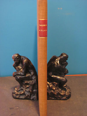1836 New Universal Atlas and Republics Of The World TANNER Complete 1st Edition