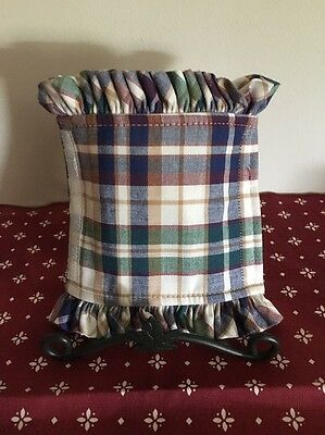 Longaberger Handle Gripper - Woven Traditions Plaid