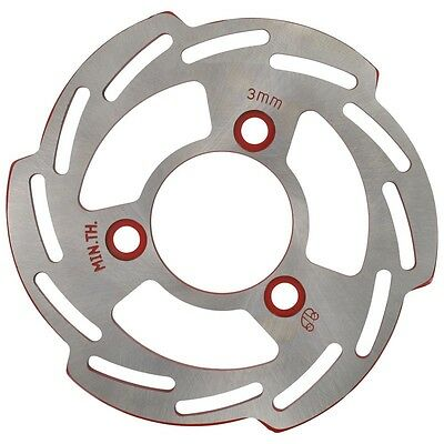 Brake Disc 180X4Mm Red 1E40Qmb 2T 50 Cc Scooter Scooter Moped Si Rtm