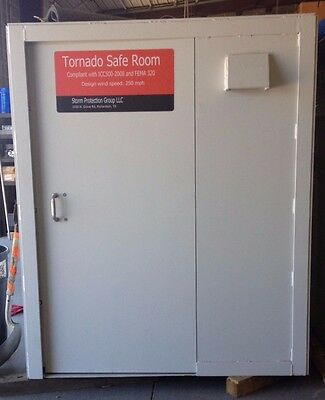 "5'x 5' Above Ground Tornado Shelter/Safe Room,  1/2"" A 36 Structural Plates"