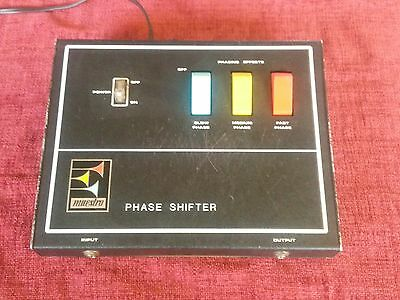 Vintage 1970's Maestro Ps-1A Phase Shifter. Serviced, Calibrated! Classic Phaser