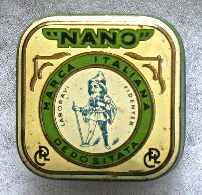 Milan, Italy Typewriter Ribbon Tin--Dwarf