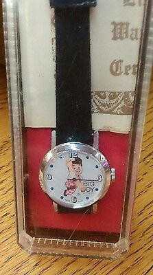 Vintage 1970's Bob's Big Boy Women's Character Watch MIB Never Worn Runs W/ COA