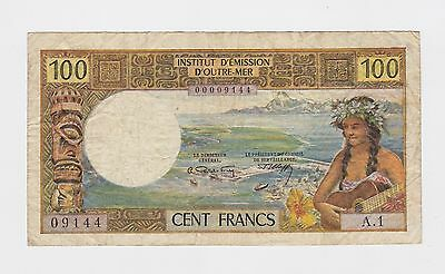 New Hebrides  - 100 Francs   1965   KEY DATE  !!!!  RARE   !!!!