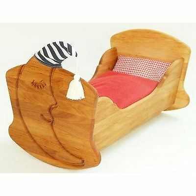 Drewart Dolls Rocking Cradle with Bedding - NKT