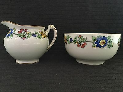 Crown Ducal Sugar And Creamer Set From The 1930's