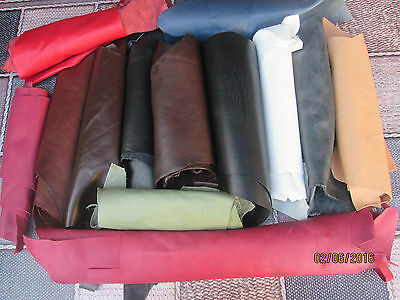 Quality Leather Italian Scrap/Off Cuts/Pieces 500gram