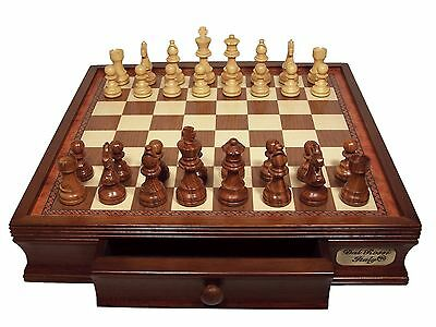 Dal Rossi Chess Set with Drawer 40cm