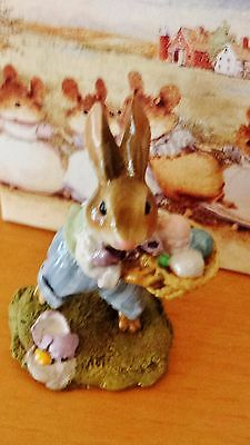 "Wee Forest Folk B-17 ""Easter Bunny""  RETIRED mint"