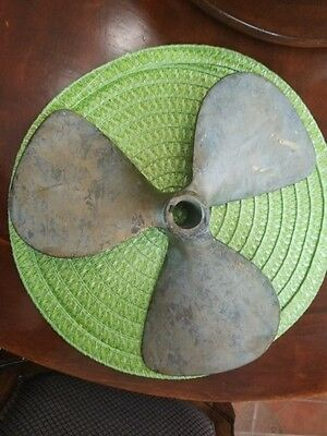 Lawrence Johnson Machine Works Vintage Brass Propeller