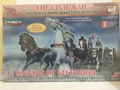 LINDBERG, THE CIVIL WAR, SCALE 1:16, PLASTIC MODEL CONSTRUCTION KIT, No. 70349