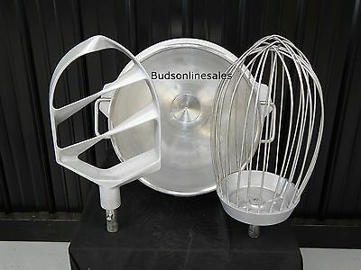 Varimixer Welbilt 60 Qt Commercial Mixer Bowl Hook Paddle Whip Stainless Steel