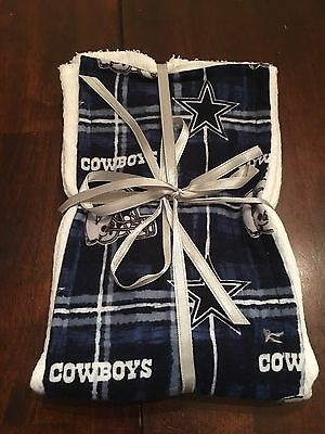 83b4ba62e0e NFL DALLAS COWBOYS Baby Burp Cloth Burp Rag