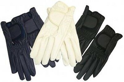 Showcraft Softgrip Horse Riding Gloves - 3 Colors