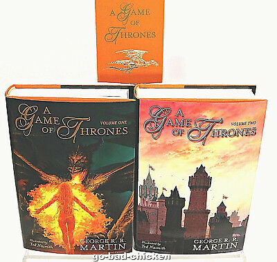 A Game Of Thrones George RR Martin Subterranean Press SIGNED 1 of 52 LETTERED ED