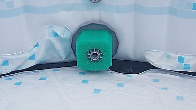 4 x Reusable Spa Hot Tub Sponge Type Foam Filter - Fits Inflatable hot Tubs Spa