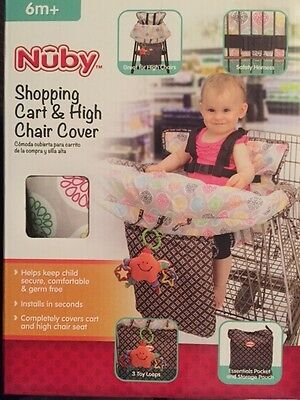 NEW nuby shopping cart and high chair cover Infant Toddler Baby Kids Children