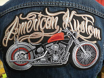 GRAND ECUSSON PATCH THERMOCOLLANT/ AMERICAN KUSTOM biker big chief 841 741 arr
