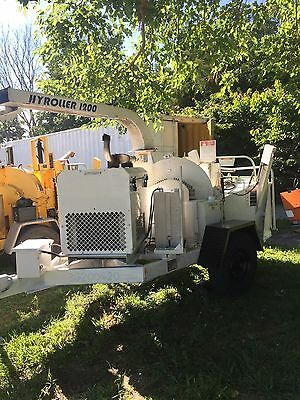 2006 WOODCHUCK 1200G HYROLLER 12 inch Wood CHIPPER diesel