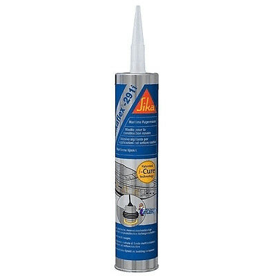 Sikaflex 291i Marine Adhesive Sealant - Black White Brown Boat Yacht Sailing New