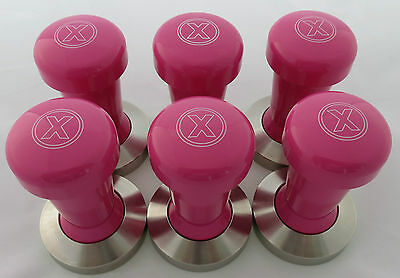 "COFFEE TAMPER.58mm.FUNKY COLOURS.S/S.""PINK"".RRP $99..ESPRESSO/COFFEE MACHINES.."