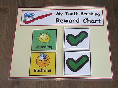 Brushing My Teeth - Children's Tooth Brushing Reward Chart