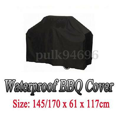 170x61x117cm Large Size 4 5 6 Burner Hooded BBQ Barbecue UV Protector Cover AU