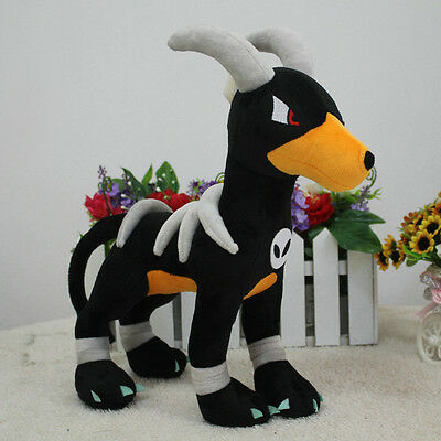 "New Houndoom 12"" 30cm Pokemon Go Game Figure Anime Soft Plush Toy Doll"