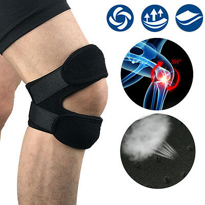 Adjustable Sports Knee Pad Protector fr Outdoor Hiking Running Patella Leg Guard