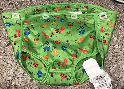 Evenflo Circus Theme Exersaucer Fabric Seat Cover Replacement Part Animals Green