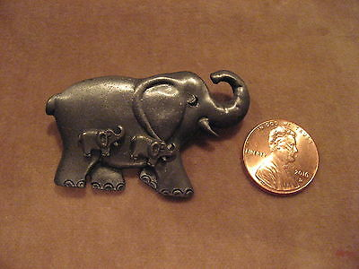 Does Selling Adorable Elephant Pin & Earrings Set Make this a Trunk Sale? Pewter