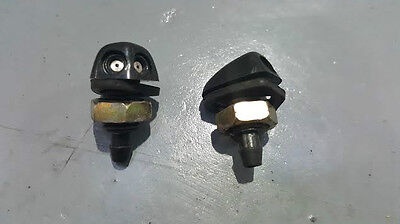 Genuine Renault Clio Mk2 01-06 Ph2 Pair Of Front Windscreen Washer Jets Nozzles