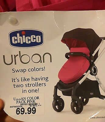 Chicco Urban Pink Stroller Accessories Kit