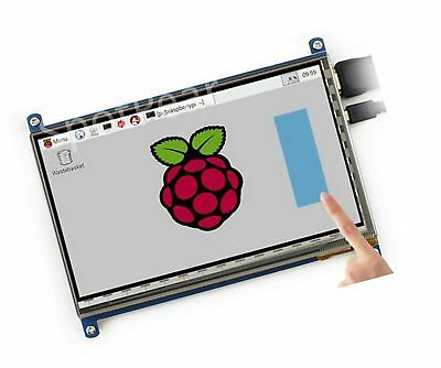 LANDZO 7 Inch Touch Screen for Raspberry Pi 3 Model B and Pi 2