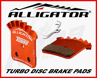 springs Alligator TURBO Finned Pads for Formula Mega//The One//R1//RX 2 pairs